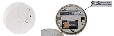Rauchmelder Unitec EIM-202: Alarm zu leise – Austausch gratis möglich